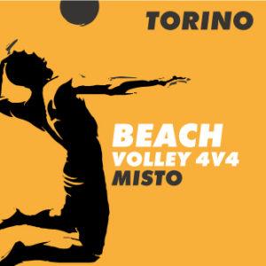 Beach Volley misto torino 4 contro 4