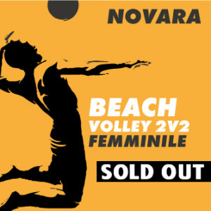 Beach volley Novara femminile - sold out