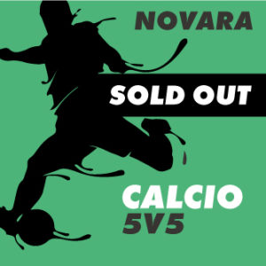 grafica per calcio novara sold out