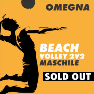 Beach volley Omegna maschile - sold out